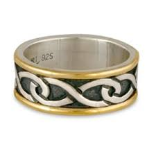 Infinity Wedding Rings by Celtic Wedding Rings Reflective Jewelry