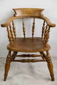 Polished Oak Desk English Oak Desk Chair 1900s For Sale At Pamono