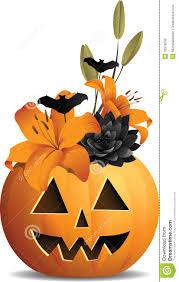 cute jack o lantern clipart pumpkin bouquet royalty free stock image image 33978596
