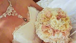 lace accessories shabby chic bridal bouquet and accessories