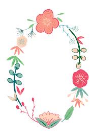 spring flowers free printable birthday invitation template