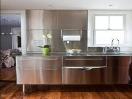 stainless steel kitchen backsplashes stainless steel kitchen kitchen design ideas with stainless steel
