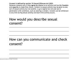 oxbridge freshers are to get classes in sexual consent that teach