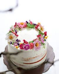 flower cakes edible flower cakes let you enjoy beautiful blooms in sight and taste
