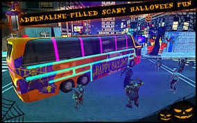 the halloween city halloween bus city simulator android apps on google play