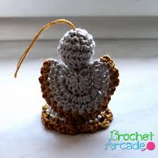 crochet angel christmas ornament free pattern u2013 crochet arcade