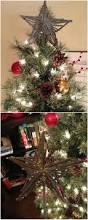 Ideas For Christmas Tree Toppers by Awesome Diy Christmas Tree Topper Ideas U0026 Tutorials Hative
