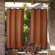 Patio Door Curtain Rod by Indoor Outdoor Duo Tension Rod Set 28