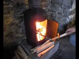 Pot Belly Stove With Glass Door by Pot Belly Wood Stove Installation In Home Youtube