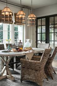 Lucia Chandelier Coastal Farmhouse Style Dining Room Home Bunch Interior Design Ideas