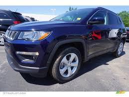 2017 jeep compass latitude black 2017 jazz blue pearl jeep compass latitude 120469858 gtcarlot