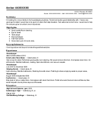Sample Housekeeper Resume by Housekeeping Resume Sample Www Inspirenow