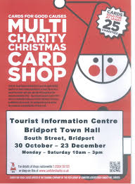 cards for good causes multi charity christmas cards bridport
