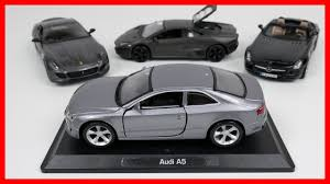 cars audi car audi a5 cars for children bburago diecast scale 1 32 kids