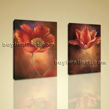 Art For Living Room by Framed Abstract Floral Giclee Prints On Canvas Wall Art For Living