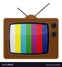 test pattern media retro tv test pattern royalty free vector image