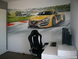 renault sport rs 01 interior fresque murale chambre graffiti renault sport megane rs01 jpg