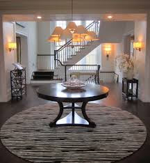 entry table ideas foyer round table ideas take a look at round foyer table u2013 home