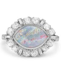 opal wedding ring sets opal engagement rings that are oh so dreamy martha stewart weddings
