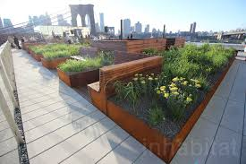 high line landscape architect designs a stunning rooftop garden in