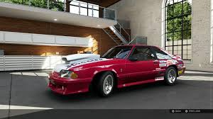forza 5 how to build the most bada drag car mustang build