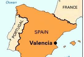 Valencia Spain Map by Valencia Spain By Rusty Daniels