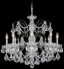schonbek 1707 40 swarovski lighting century chandelier