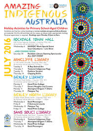 rockdale library news amazing indigenous australia holiday