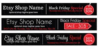 black friday banner new black friday etsy shop banner designs rhonda jai