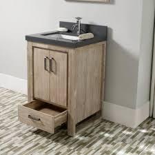 Bathroom Vanities Albuquerque Transitional 24 Inch Gray Bathroom Vanity With Marble Top
