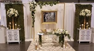 photo booths for weddings bridal show booth design october 2016 white with gold accents