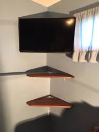 tv mount with shelves corner tv mount and shelves my diys pinterest corner tv
