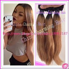cheap human hair extensions 8a grade root 1b 27 honey ombre human hair