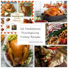 12 traditional thanksgiving turkey recipes lovegem studio