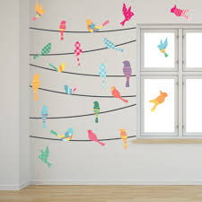 pattern birds wire bird wall decals wallsneedlove pattern birds wire mount wall decals white background