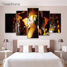Paintings For Living Room Ganesh Painting Modern Promotion Shop For Promotional Ganesh