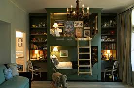 bedroom kids designs bunk beds with desk really cool for teenagers
