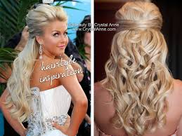 what kind of hairstyle does julienne huff have in safe haven julianne hough inspired half up bridal hairstyle houston hair