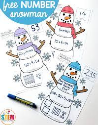 build a snowman clock the stem laboratory