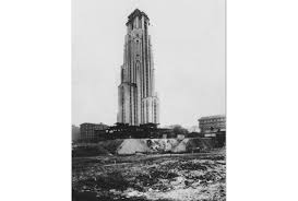 pictures of the cathedral of learning u0027s construction