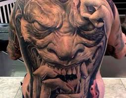 tattoo back face 29 best 3d zombie tattoos on back images on pinterest gorgeous
