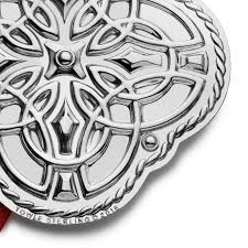 celtic knot ornament 2016 towle silver ornament