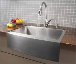 Farm Sink With Backsplash by Drop In Farmhouse Kitchen Sink Foter