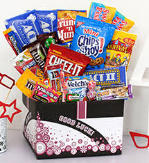 birthday care package care packages student college exams healthy get well