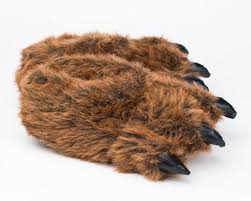 grizzly claws grizzly paw slippers grizzly slipper paw slippers