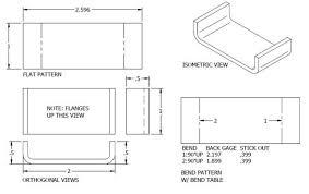 Engineering Drafting Table Doing Origami With Metal U003e Engineering Com