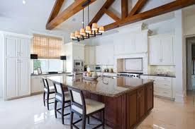 Lighting For Cathedral Ceiling In The Kitchen by 37 Fantastic L Shaped Kitchen Designs