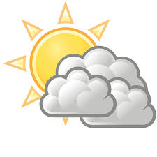 sunny clipart weather forecast symbol pencil and in color sunny