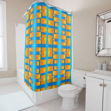 Bright Orange Curtains Shop Aqua And Orange Curtains On Wanelo