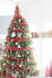 how to decorate a real christmas tree the navage patch